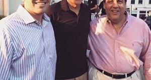 El senador Marco Rubio, Mitt Romney y Chris Christie, luego de disfrutar juntos de unos helados, siguieron pasando un lindo fin de semana en New Hampshire.