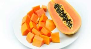 La papaya es una fruta con alto contenido nutritivo.