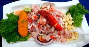 El ceviche peruano, es un plato rey de la gastronomía latinoamericana.