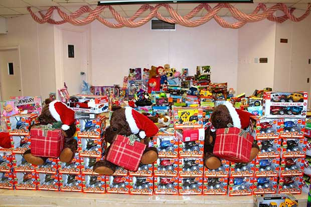 Los organizadores del evento han estado colectando donaciones desde el 21 de diciembre.