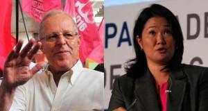 El candidato a la presidencia del Perú, Pedro Pablo Kuczynski y Keiko Fujimori, de Fuerza Popular, se enfrentan en las urnas por la presidencia peruana, el domingo 5 de junio.