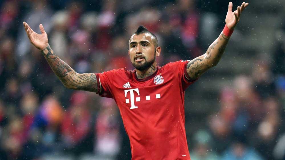 Arturo Vidal fue el héroe chileno en el triunfo sobre Perú. El volante de Bayern Múnich anotó los dos goles con los que la Roja se impuso 2-1 al cuadro peruano y con los que, de paso, sigue vivo en su lucha por clasificar a Rusia 2018.