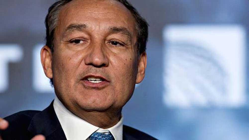 CEO de United Airlines Oscar Muñoz.