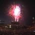 Fuegos artificiales en Coors Field para conmemorar el Día de la Independencia de EE.UU. después de que los Colorado Rockies recibieran a Cincinnati Reds en un juego de béisbol el lunes, 3 de julio de 2017, en Denver, Colorado. Foto: Internet.