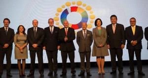 El ministro de Comercio Exterior y Turismo, Eduardo Ferreryros, durante la inauguracion de Summit Peru Service 2017, en Lima.