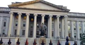 El Departamento del Tesoro de EE.UU. en Washington anunció las nuevas sanciones a Cuba, el miércoles 8 de noviembre de 2017. Foto: YouTube.