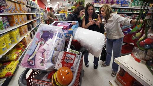 La economía de EE.UU. mostró en el anterior trimestre pese al azote de dos poderosos huracanes.