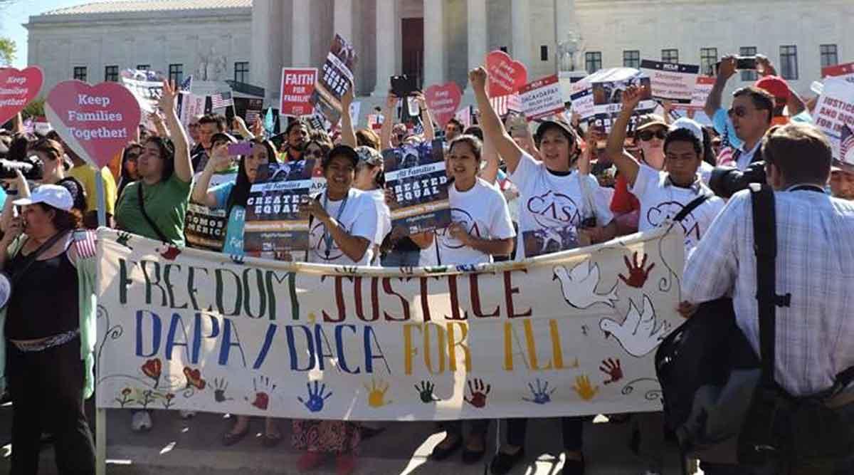 Manifestantes y estudiantes viajarán a Washington DC para una protesta nacional que busca pedir una ley Dream Act Limpia.