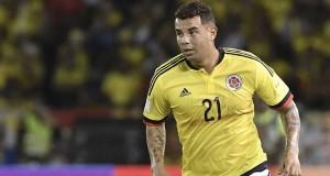 El jugador colombiano, Edwin Cardona .