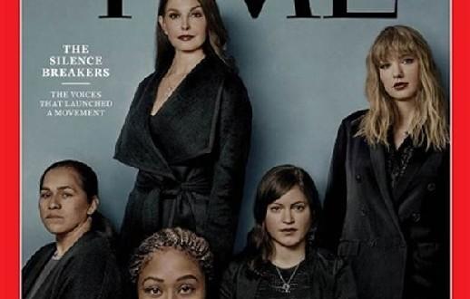 La revista Time escogió como su Persona del Año 2017 al movimiento contra el acoso sexual #MeToo.