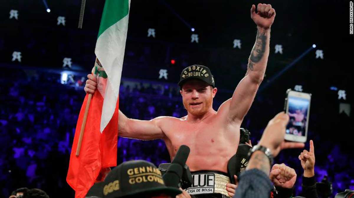 Canelo Álvarez quiere ser el primer campeón mundial mexicano indiscutido de cualquier categoría.,